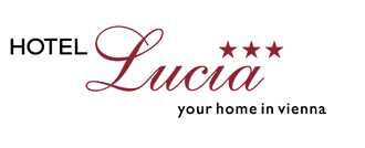 Schriftzug und Logo Hotel Lucia