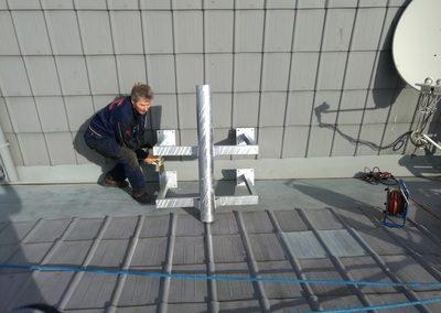 Mischek Montage SAT-Anlage